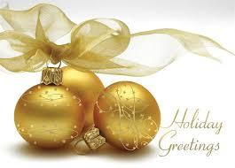 cards golden ornaments