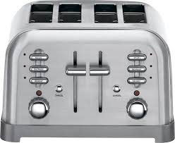 Kitchenaid Toaster Kmt2115cu Cuisinart Refurbished 4 Slice Toaster Rbt 380 Best Buy