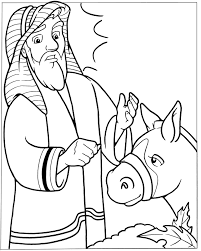 balaam and the talking donkey crafts google search sunday