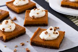 Crustless Pumpkin Pie by Pumpkin Pie Bars E D Smith