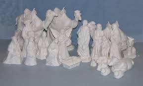 ceramic bisque nativities from s ceramics