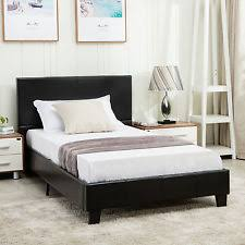 Platform Bed Ebay - faux leather headboard ebay