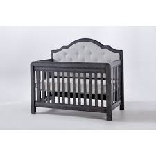 Pali Toddler Rail Pali Designs Cristallo Forever Fabric Convertible Crib Hayneedle