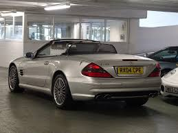 used 2004 mercedes benz sl class 5 4 sl55 amg 2dr for sale in west