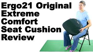 Cushioned Bleacher Seats With Backs Ergo21 Original Extreme Comfort Seat Cushion Review Ask Doctor