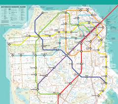 Map Of Bart Stations by Wouldn U0027t It Be Glorious If This Fantasy San Francisco Bart Map