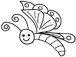 perfect free printable butterfly coloring page 7774 unknown
