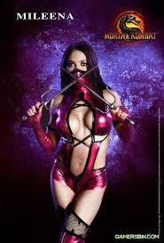 Mileena Halloween Costume Mileena Mortal Kombat Mk Mortal Kombat