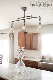 Diy Hanging Light Fixtures Diy Industrial Pipe Light Fixture
