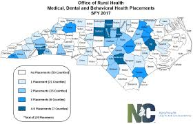 Wayne State Map Provider Recruitment And Placement Nc Department Of Health And