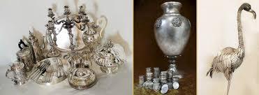 candelieri in argento argento