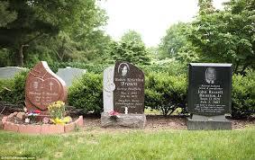headstones houston s tombstone is seen in new jersey cemetery