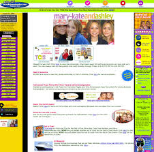 you re invited to mary kate and ashley birthday party these celebrity websites from the u002790s and u002700s are everything