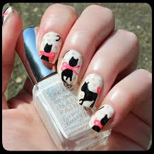 dahlia nails tutorial easy cococat