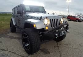 jeep wrangler grey 2015 jeep wrangler unlimited custom gray lifted jeep