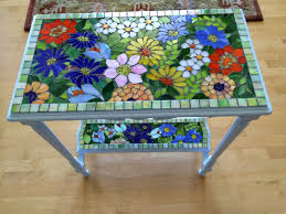 how to make a mosaic table top decorating how to make a mosaic mosaic wall tiles mosaic table