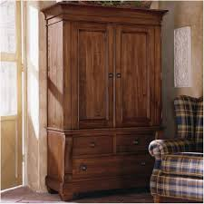 Furniture Wardrobe Closet Armoire Cherry Wood Wardrobe Closet