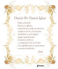oración por nuestra iglesia imprima las tarjetas de oración y