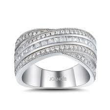 womens wedding ring princess cut white sapphire 925 sterling silver women s wedding