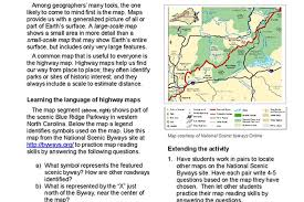 map reading practice activities national geographic society
