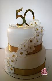 golden wedding cakes beautiful decoration 50th wedding anniversary cakes grand best 25