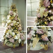 champagne u0026 bronze christmas tree for hire book commercial