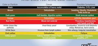 what different colors mean urine color meaning what causes changes when to worry