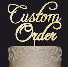 how to your cake topper your cake topper idea your custom wedding anniversary bridal