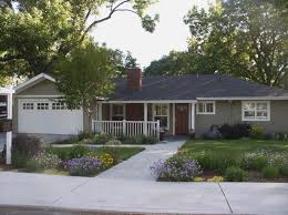 ideas about ranch exterior mid century also outside home colors