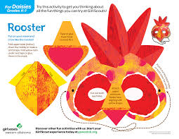 daisy rooster mask i can u0027t wait to recruitment 2014