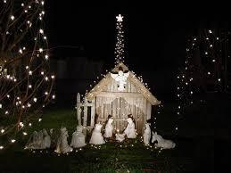 outdoor nativity cool outdoor nativity set holidays outdoor