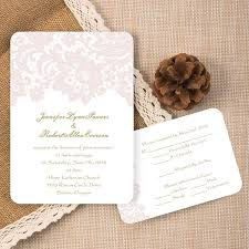 cheap make your own wedding invitations cheap blush pink lace ticket shape wedding invitations