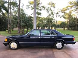 1991 mercedes benz 300 sel for sale in naples fl stock 569048