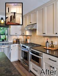 Before And After Kitchen Remodel by Before U0026 After A Dated House Gets A Contemporary Revival For A