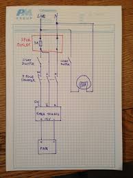 wiring advice on extractor fans boards ie
