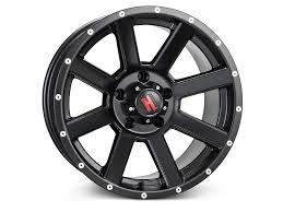 Fierce Off Road Tires Havok Off Road Wrangler H 107 Matte Black Wheel 17x9 H107 790