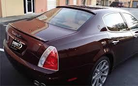 maserati levante trunk 2004 2012 maserati quattroporte euro style rear trunk lip spoiler