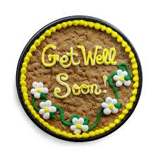 get well soon cookies get well soon cookie cake the great cookie