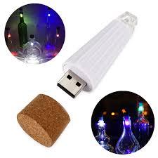 cork shaped rechargeable bottle light cork shaped wine bottle light rechargeable usb night light cork
