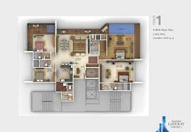 2 Bhk House Plan 4 Bhk Flats In Pune Amanora Gateway Towers Floor Plan