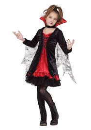 girls black widow spider witch vampire halloween costume dress