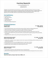 Best Receptionist Resumes by Office Resume Template Billybullock Us