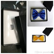 tie box gift top sale black gift boxes for necktie package for bow ties