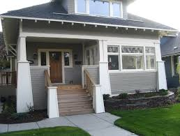 craftsman front porch steps home design ideas