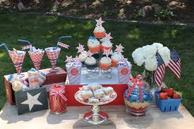 Fourth Of July Table Decoration Ideas Outdoor Decorating Ideas For The Fourth Of July