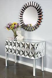 Mirrored Console Table Spike Mirrored Console Table U003c3 For The Home Pinterest