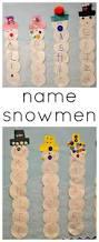 name snowmen winter activity for preschoolers fun a day