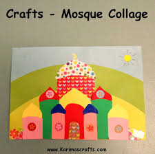 13 creative mosque crafts to make with kids mosque ramadan and
