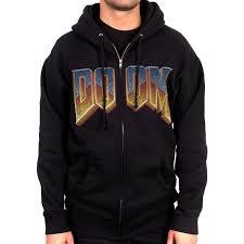 the bethesda store doom logo hoodie