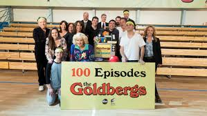 television goldbergs wall thanksgiving review cheers